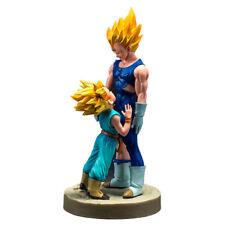 Dragon Ball Z Super Saiyan Vegeta and Trunks Figure Collectible Model Toy Doll
