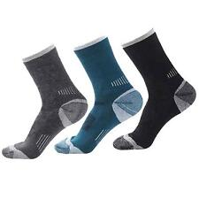 3Pairs New Men's Merino Wool Sock Warm Thermal Sport Winter Hiking Camp Socks