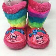 NWT STRIDE RITE PINK BEAR SLIPPERS and BIB GIFT SET SZ 1-2 or 5-6  Free Shipping