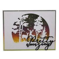 Christmas Metal Cutting Dies Stencil Scrapbooking Embossing Craft Card R7Y0 F9D0