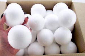 Box of 20 Polystyrene Ball 70mm Christmas Xmas bauble craft