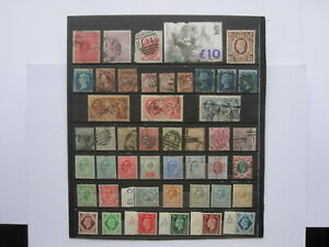 GB STAMP COLLECTION OF MINT & USED ISSUES (GB21)