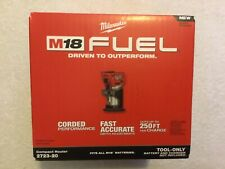 New Milwaukee 2723-20 Fuel M18 18V Brushless Compact Router NIB (Bare Tool)