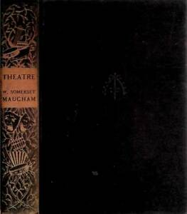[1937] Theatre: A Novel by W. Somerset Maugham / Hardcover