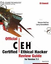 Official Certified Ethical Hacker Review Guide: For Version 7.1 (with Premium We