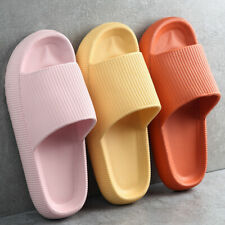 Super Suave Zapatillas De Casa Antideslizante Zapatillas De Baño al aire libre de suela gruesa