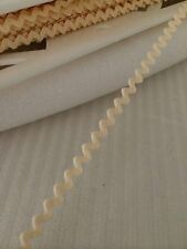 Mini Ric Rac Braid 5mm x 2 Meters Cream Made in USA
