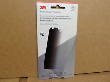 3M Privacy Screen Protector for Google Pixel Phone Black Glossy Brand New