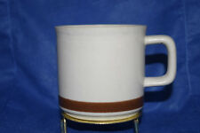 One flat cup - Woodhaven Collection - Brown Band around the bottom - Used