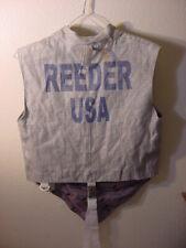 "FENCING JACKET SAYS ""REEDER USA"" SIZE 38"