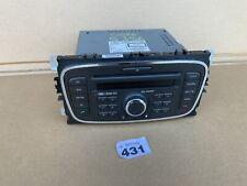 Ford Focus S-Max C-Max Mondeo Radio Stereo 6000 Cd Player + Código 7M5T-18C815-BA