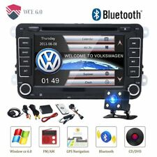 7'' BLUETOOTH AUTORADIO DOPPEL 2DIN NAVIGATION VW GPS RDS WIFI USB MIT Kamera