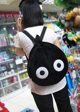 US Seller Totoro Black Dust Backpack Deluxe #K-lon274