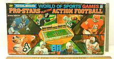 Rare 1970 Coleco Pro Stars Electric Action Football Game World Of Sports 5765A
