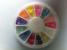 Carrousel 120 pcs fimo nail art etoile ongle manucure envoi 24 heures