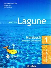 Hueber LAGUNE 1 Deutch als Fremdsprache KURSBUCH mit AUDIO CD Niveaustufe A1 NEW