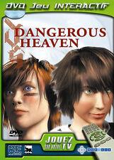 3930 // DVD JEU INTERACTIF DANGEROUS HEAVEN NEUF