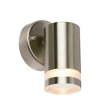 9W LOW ENERGY IP44 DOWN OUTDOOR MODERN COLUMN WALL LIGHT KOS 13793