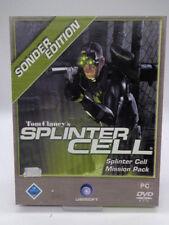 PC Spiel - Tom Clancy´s Splinter Cell + Mission Pack (mit OVP)(Bigbox)