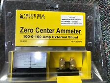 Blue Sea Zero Centre Ammeter for DC Systems