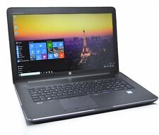 HP ZBook 17 G3 Workstation Core i7-6820HQ 32 Go Ram, Quadro M4000M, 2020 Garantie