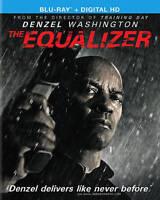 The Equalizer (Blu-Ray) Denzel Washington NEW , Free Shipping