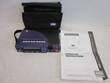 Hhb Portadisc Mdp500 Portable Mini Disc Recorder with Instruction Manual