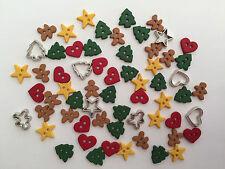 Itty Bitty cortar las cookies-Navidad Novedad Vestido para arriba Craft Botones