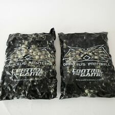Draxxus Paintball 500 Count Two Bags Unpredictable