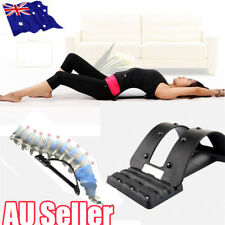 Magic Back Support Massage Stretcher Extender Posture Lumbar Pain Relief BO