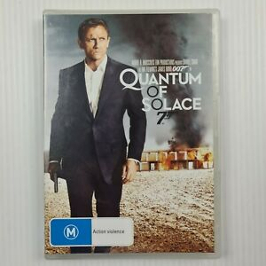 Quantum of Solace DVD - James Bond 007  - Region 4 - TRACKED POSTAGE