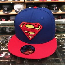 New Era Superman Snapback Hat Cap Royal/Red/Yellow dc comics