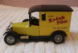 "MATCHBOX YESTERYEAR MODEL ** 1927 TALBOT ""KODAK FILM"" VAN **  NEW - Y5 - CODE 2"