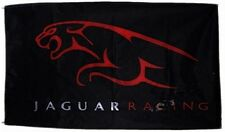 Large Jaguar Racing flag (black background) 1500mm x 740mm      (of)