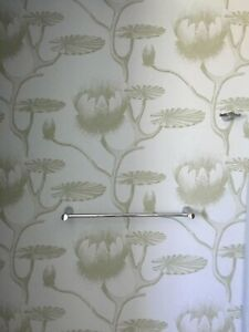 15.5 Yards COLE & SON 69/3112 Lily Sage Pale Blue Iconic Water Lilies Wallpaper
