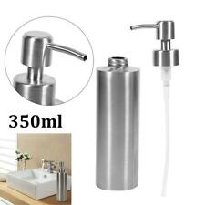 Stainless Steel Soap Dispenser Kitchen Sink Soap Hand Liquid Pump Container