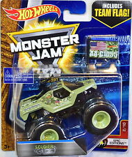 HOT WHEELS MONSTER JAM 2017 TEAM FLAG SOLDIER FOR TUNE EPIC EDITIONS #2/10