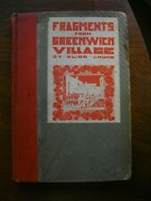FRAGMENTS FROM GREENWICH VILLAGE (1921 Ed) BRUNO VERY RARE LIMITED Ed. 67/500
