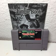 The Jungle Book - Super Nintendo (SNES) With Manual