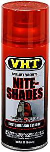 VHT NITE SHADES Tail Light Lens Tint Costing Translucent Red Spray Paint SP888