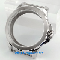 P853 44mm Parnis Sapphire Glass Watch Case for ST3600 3620 Movement