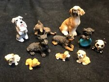 Job Lot Dolls House Miniature Animals Pet Shop Dogs Home T370