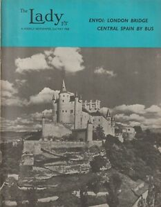 The Lady Magazine, 2nd May 1968 - Central Spain By Bus