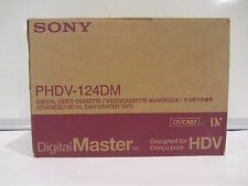 LOT 10 PCS SONY PHDV-124DM DVCAM