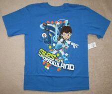 Disney's MILES FROM TOMORROWLAND - Blue S/S Tee T-Shirt sz 7/8