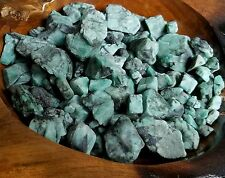 Grade A Nice Green ROUGH EMERALD GEMS NATURAL UNSEARCHED Mineral 1/4lb 500cts