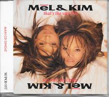MEL & KIM - That's the way it is CDM 3TR PWL UK Release 1988 (Supreme Records)