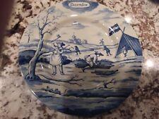 Metropolitan Museum of Art Delft Holland December Months of Year 9'' Plate