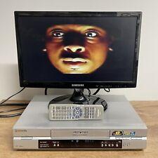 PANASONIC SUPER DRIVE NV-FJ630B-S VHS PLAYER VIDEO RECORDER With REMOTE CONTROL