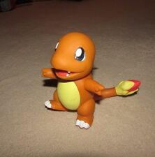 """POKEMON Vintage Charmander ACTION FIGURE 1998 or older Collectible 5"""" Toy"""